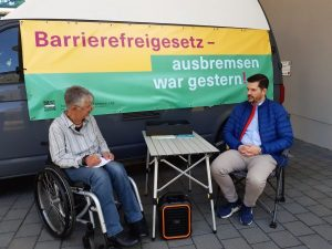 Dr. Sigrid Arnade im Gespräch mit Matthias Nölke